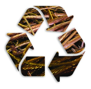 Recycle Symbol art